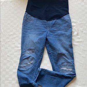 Liz Lange Maternity Jegging Jeans size XL